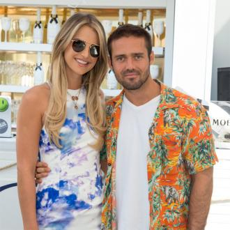 Spencer Matthews and Vogue Williams reveal daughter's name