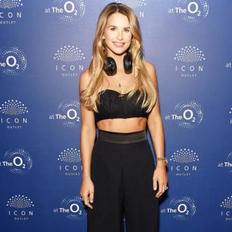 Vogue Williams returns to work for the first time after giving birth