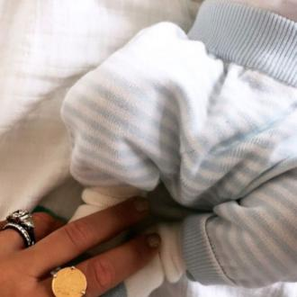 Vogue Williams gives birth to baby boy