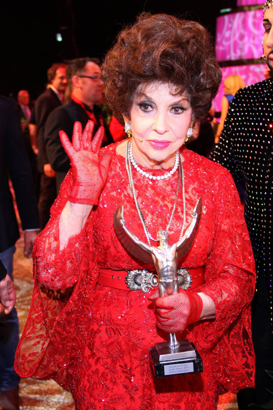 Gina Lollobrigida Denies Sex With Toyboy Lover