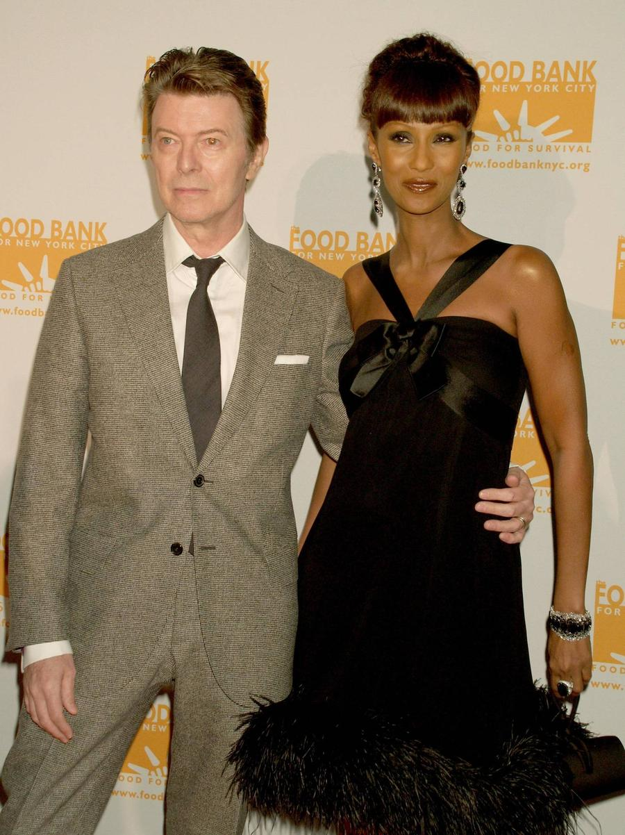 David Bowie's Widow Iman Breaks Silence