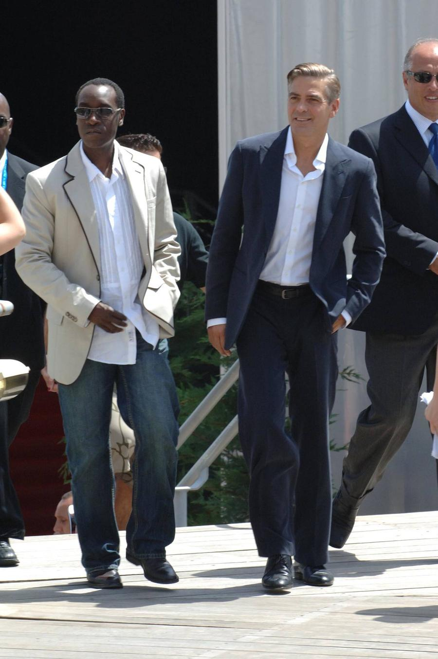 George Clooney And Don Cheadle Unveil Sudanese War Crimes Report