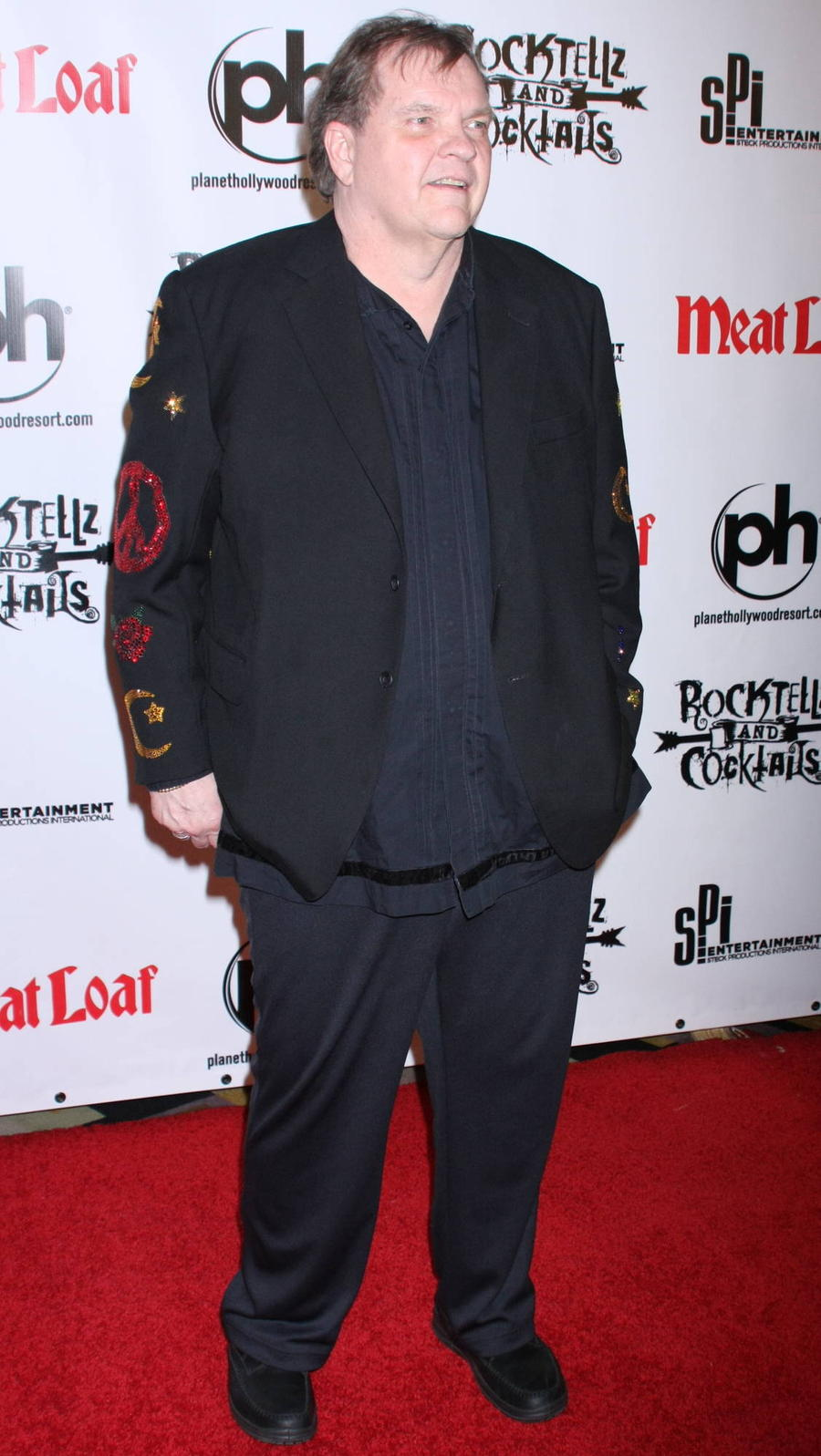 Teary-eyed Meat Loaf Accepts Q Hero Award