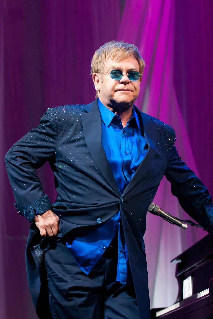 Stefano Gabbana Reignites Elton John Feud