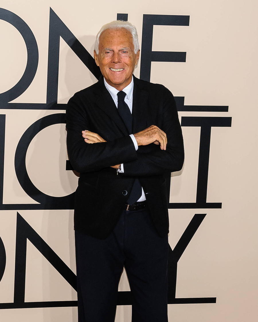 Giorgio Armani: 'I'D Love To Watch My First Fashion Show'