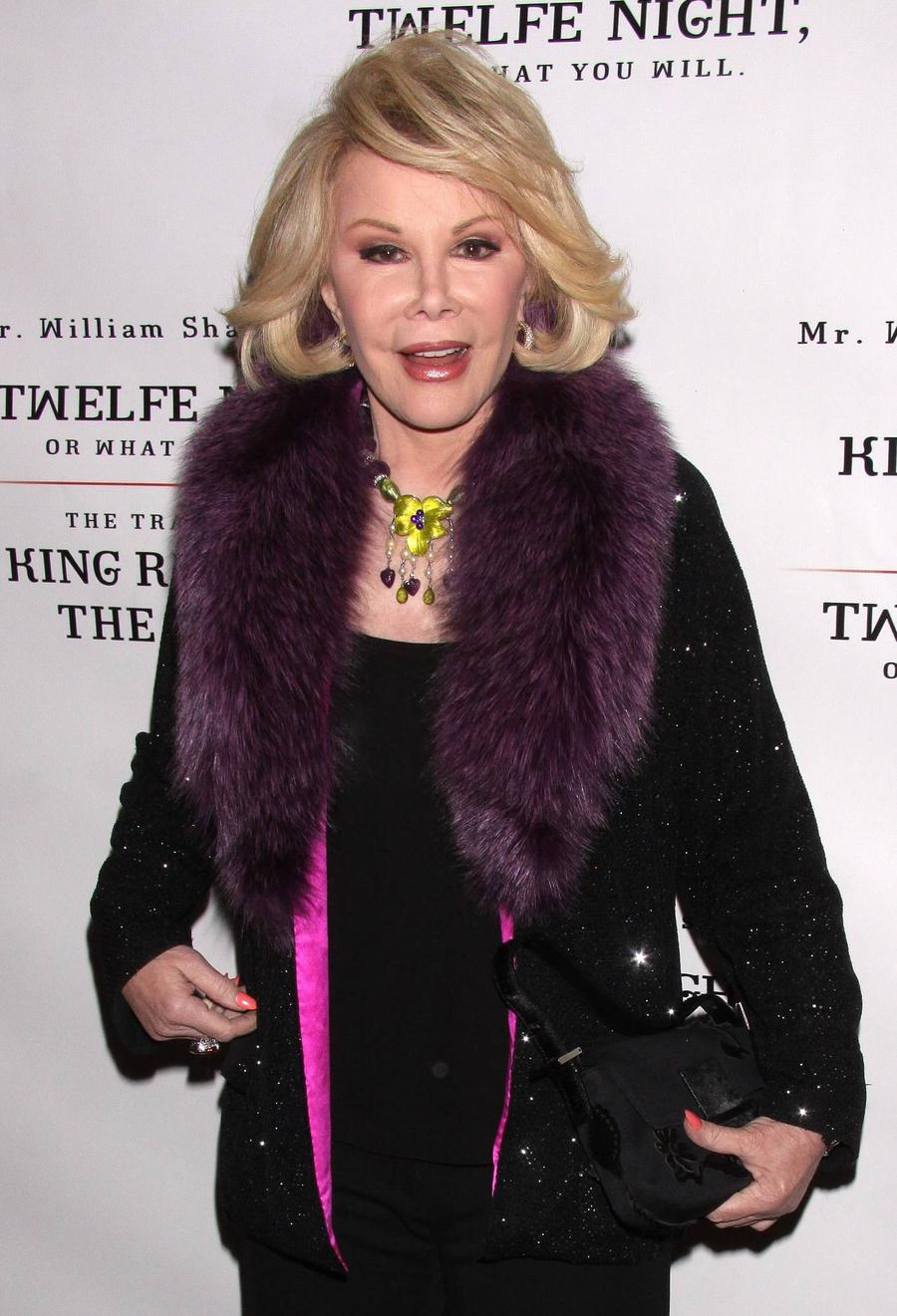 Joan Rivers Belongings To Be Auctioned For Charity