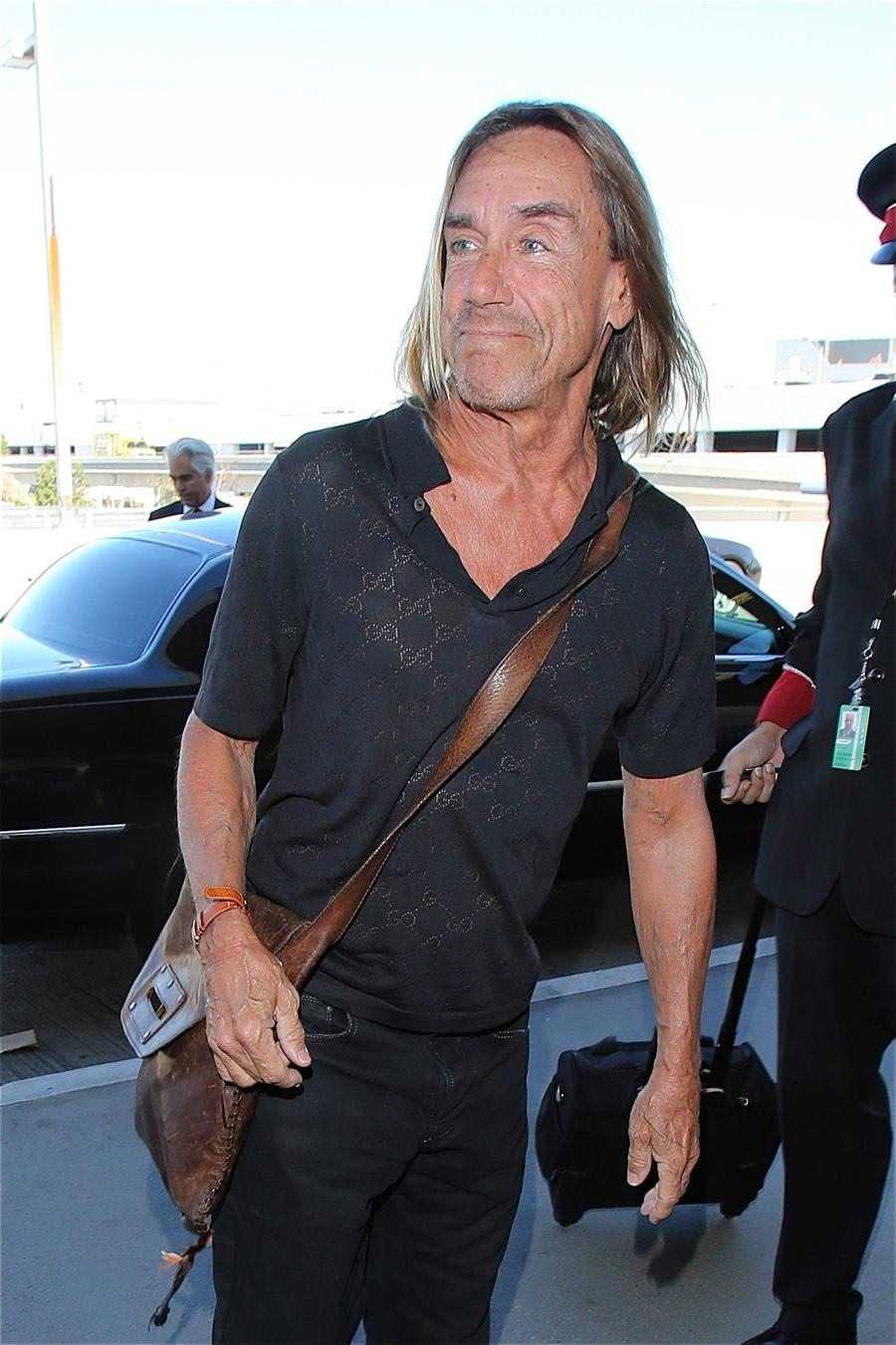Iggy Pop's Eyesight Forcing Punk Hero To Slow Down
