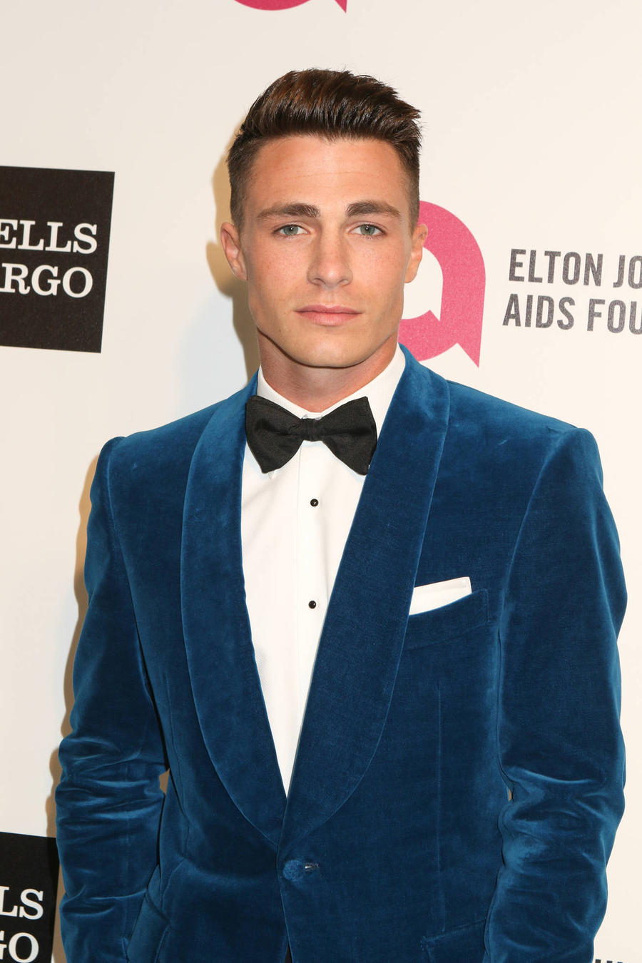 Colton Haynes Poses With 'Baby Bump'