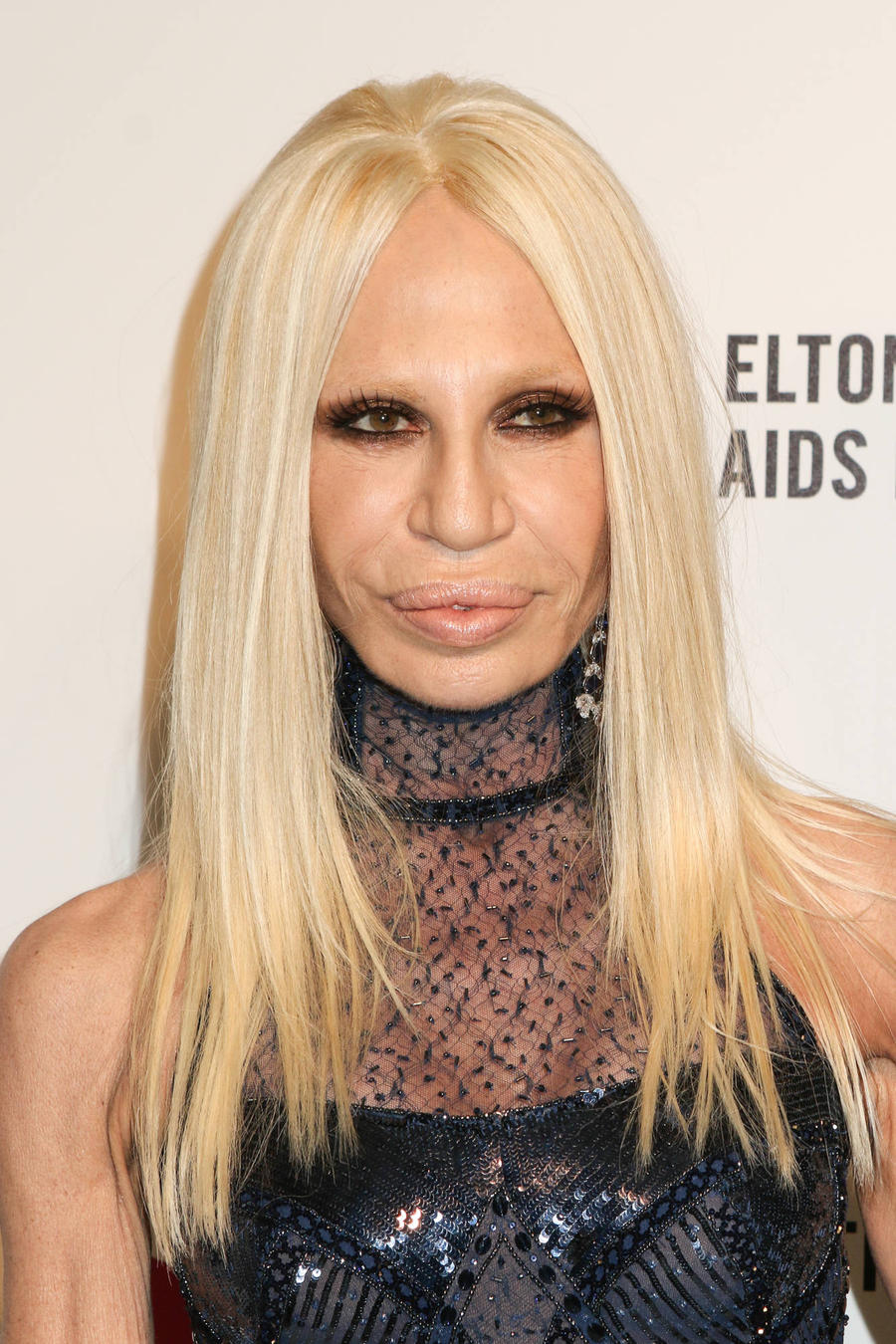 Donatella Versace: 'I Went Bold For Bruno's Super Bowl Look'