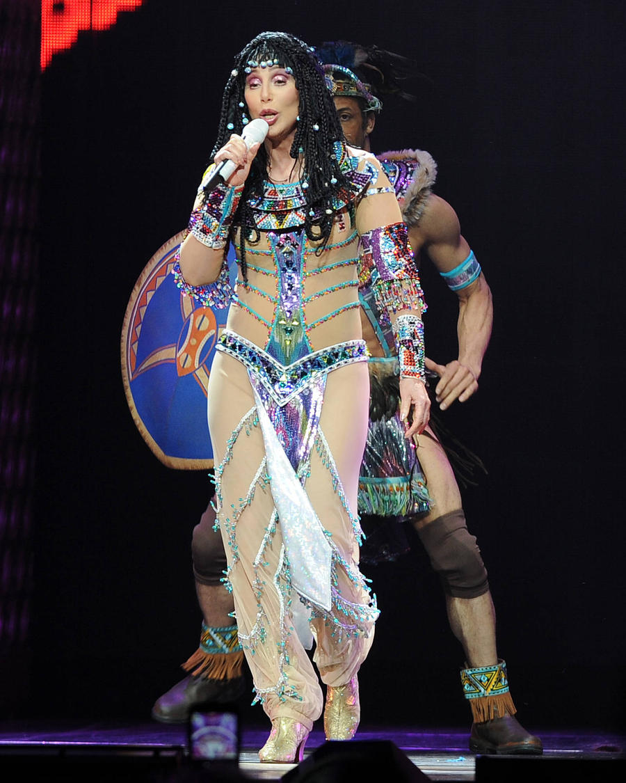 Cher: 'I Was In Vegas When Britney Spears Was In A Romper!'