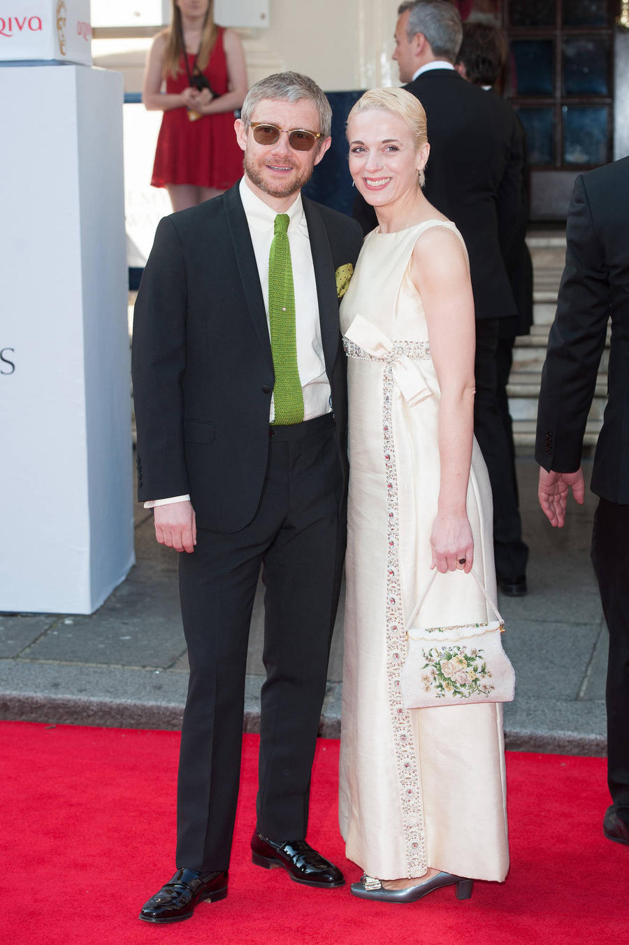 Martin Freeman And Amanda Abbington 'Ok' After Split