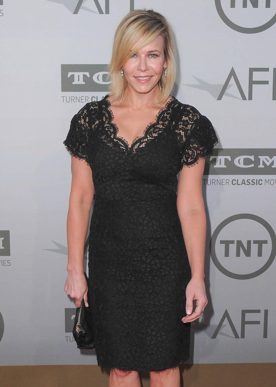 Chelsea Handler Slams Trump With Striptease