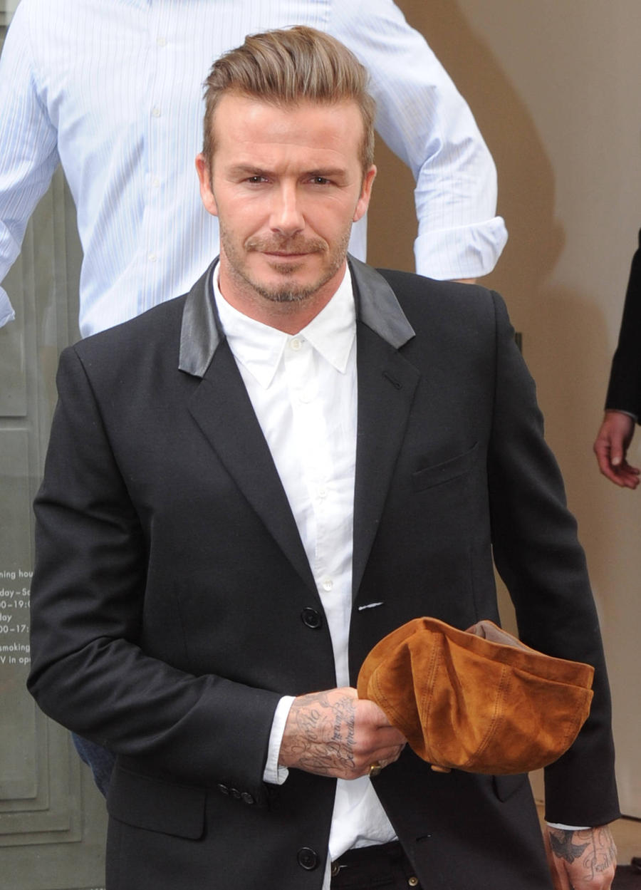 David Beckham Takes Tea To Paramedic