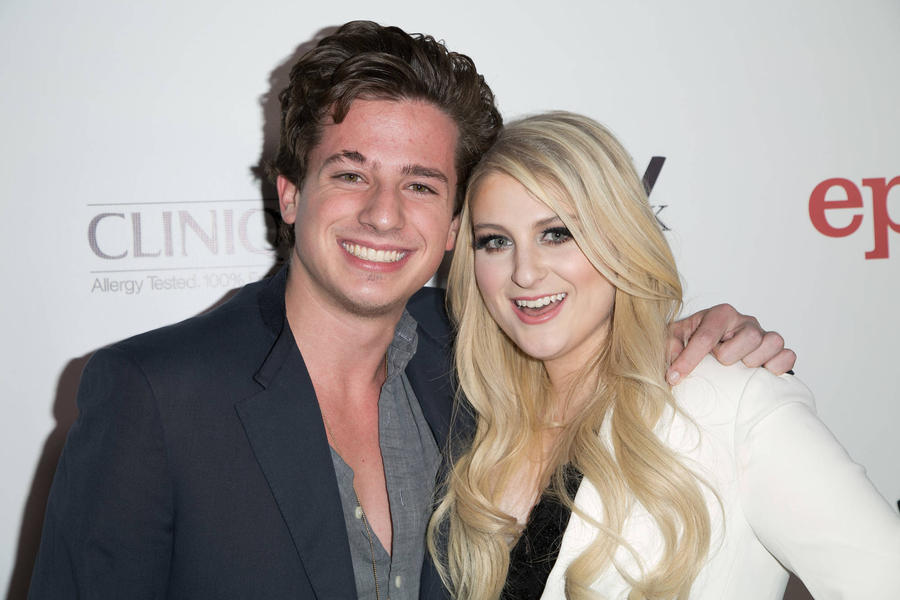Charlie Puth: 'I Was Obeying Orders When I Kissed Meghan Trainor'