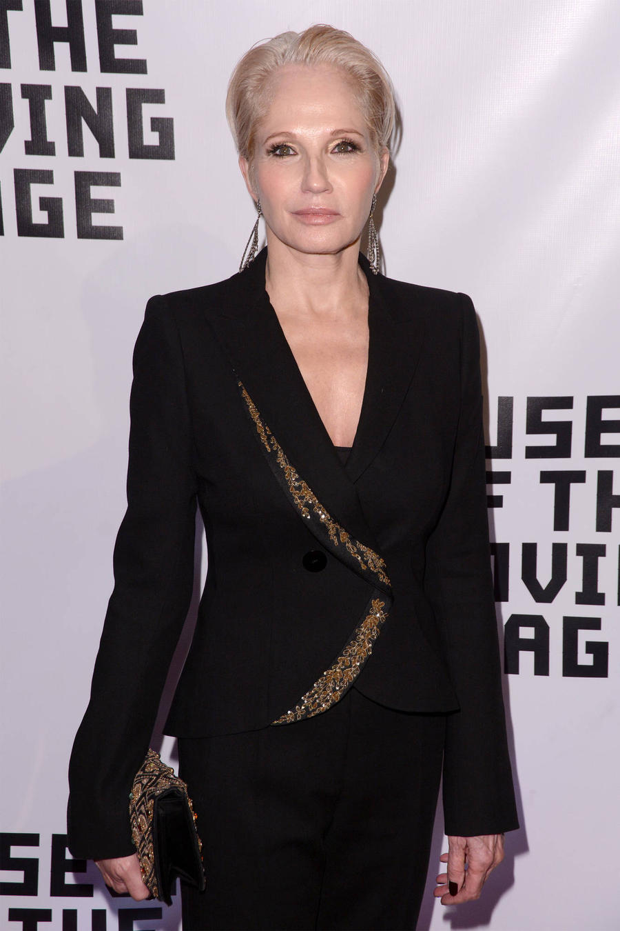 Ellen Barkin Back On Tv Show Set After Choking On Lunch