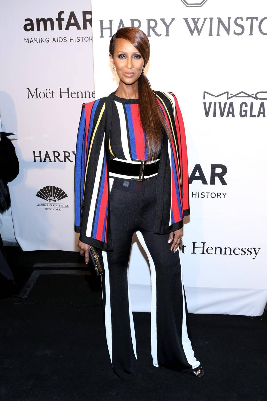 Iman Steps Out For The First Time Since David Bowie's Death