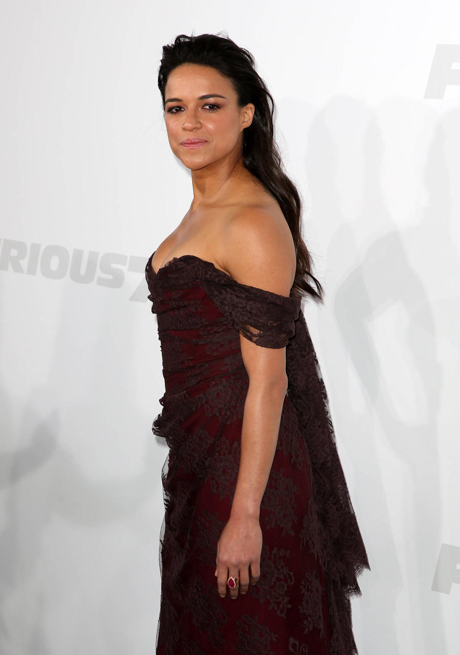 Michelle Rodriguez Learned To Fight Bullies At Early Age