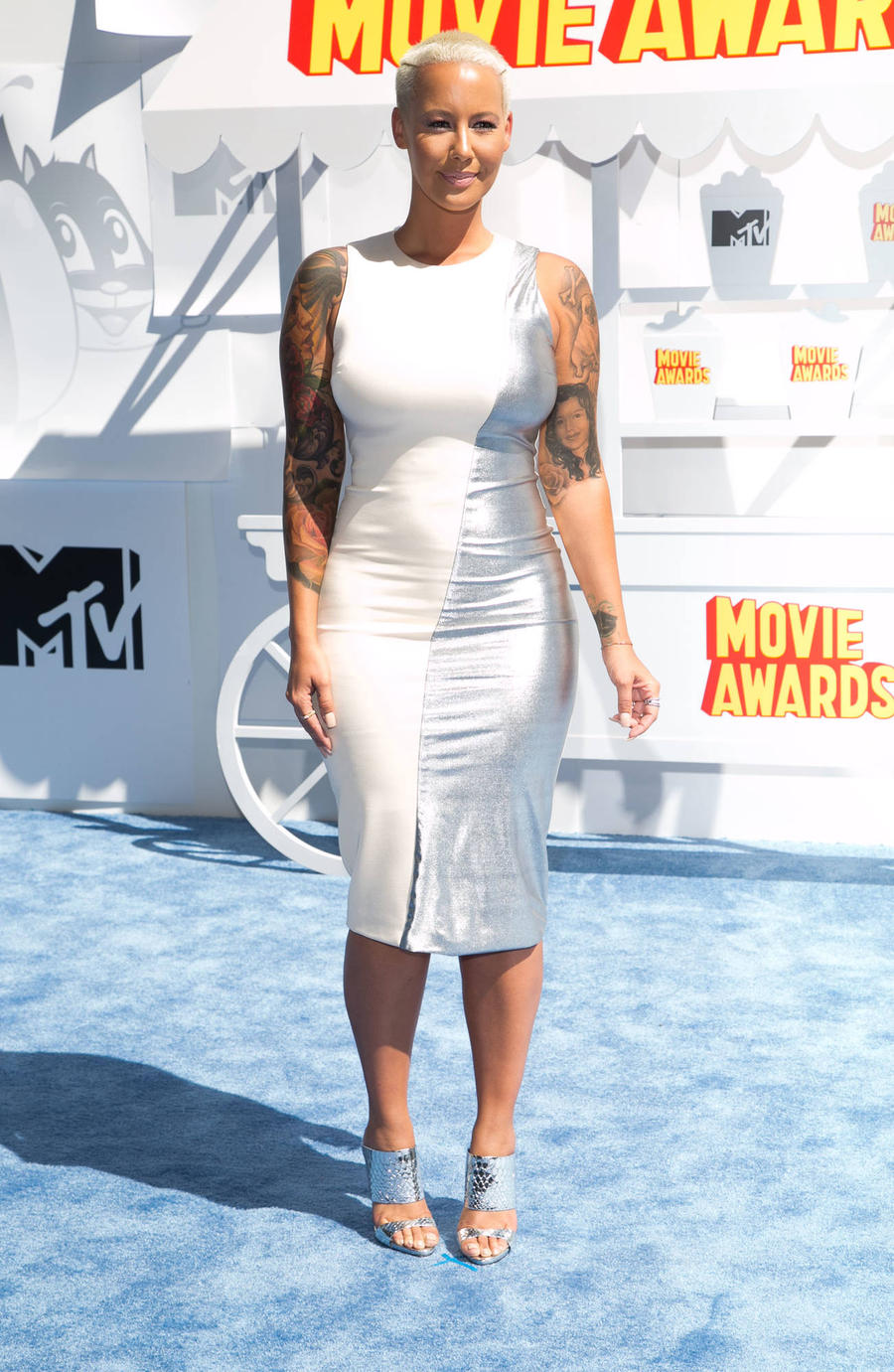Amber Rose In Trademark Battle With Country Star Over Her Name