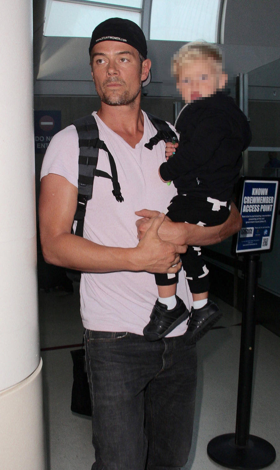 Josh Duhamel Shows Off Sweet Snaps With Son For Tourism Drive