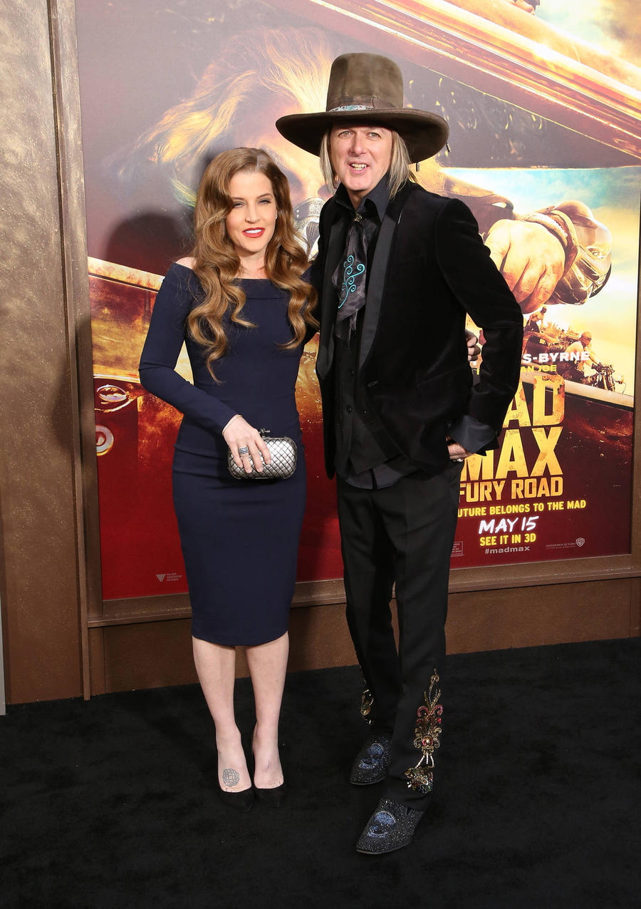 Lisa Marie Presley's Estranged Husband Fires Back At Disturbing Photos Allegations