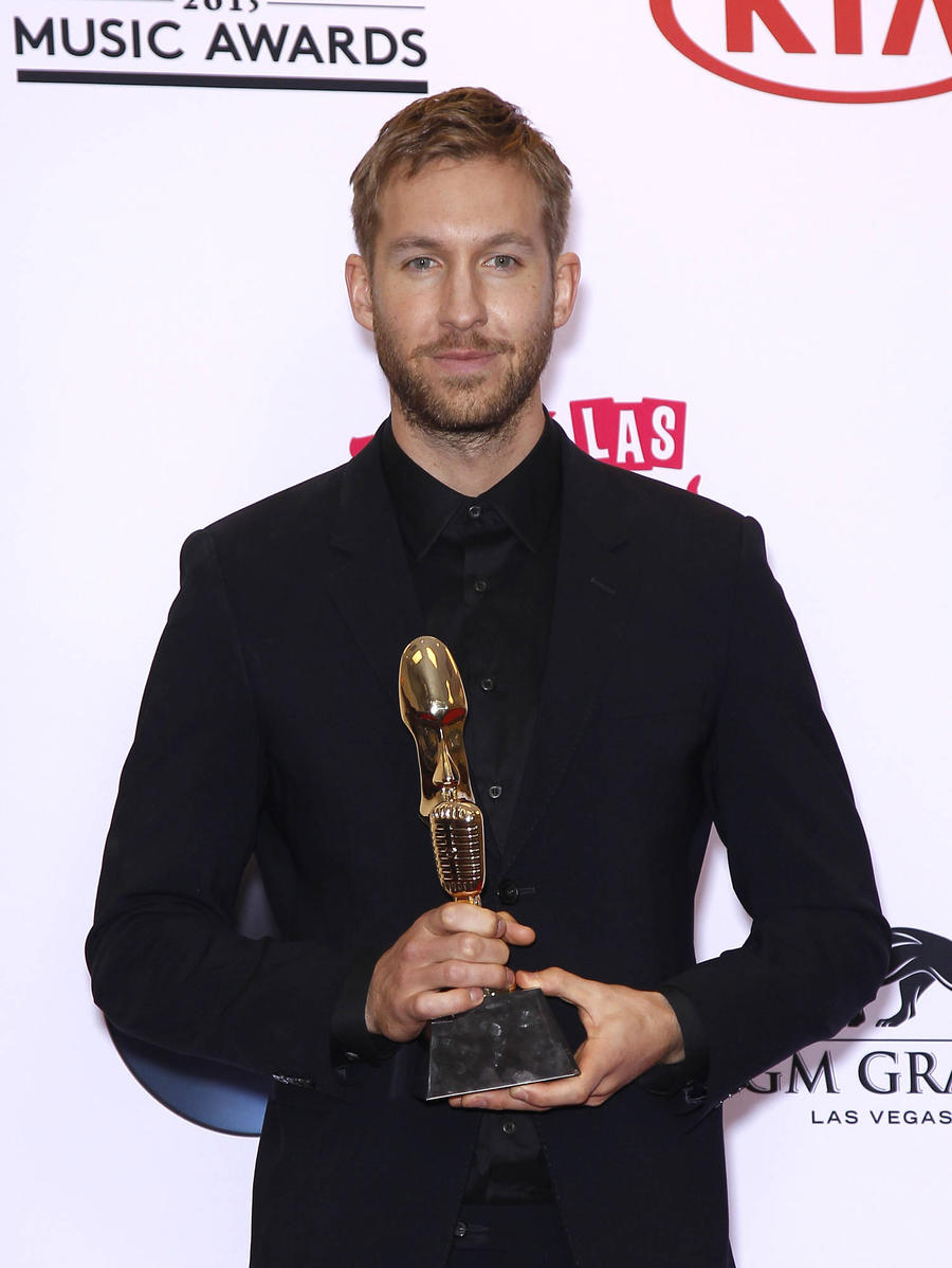 Calvin Harris 'Feeling Lucky' After Car Accident