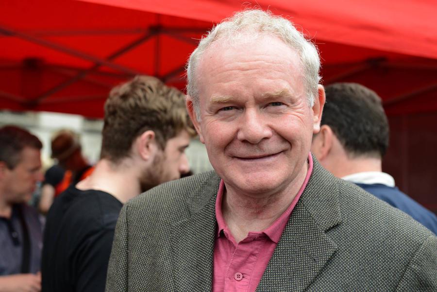 Northern Irish Politician Martin Mcguinness Dies At 66