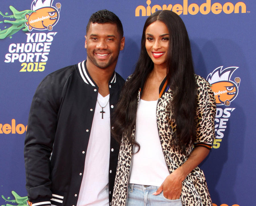 Russell Wilson Gushes About Ciara And Her Son