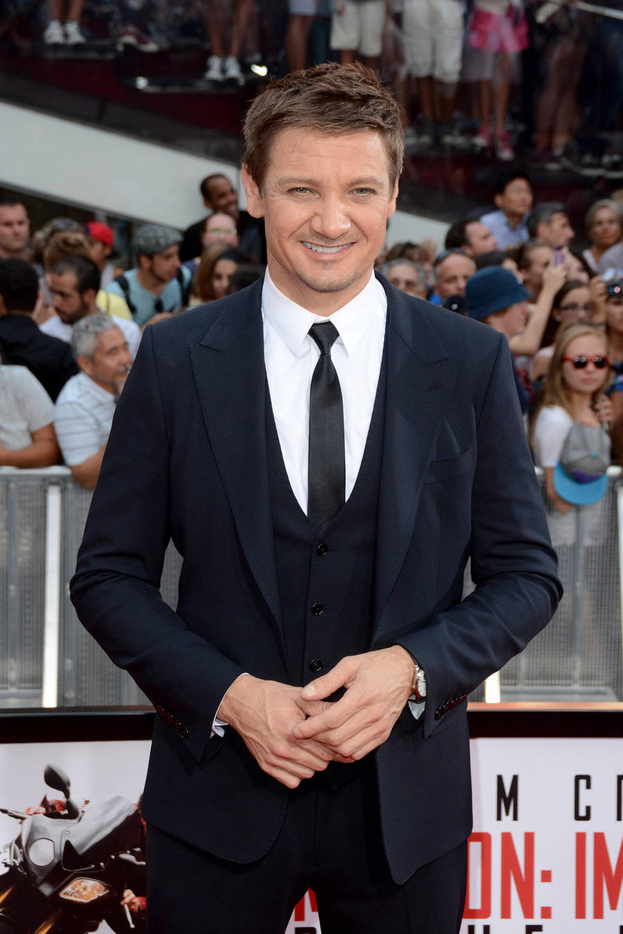 Jeremy Renner Proud Of Fearsome Face