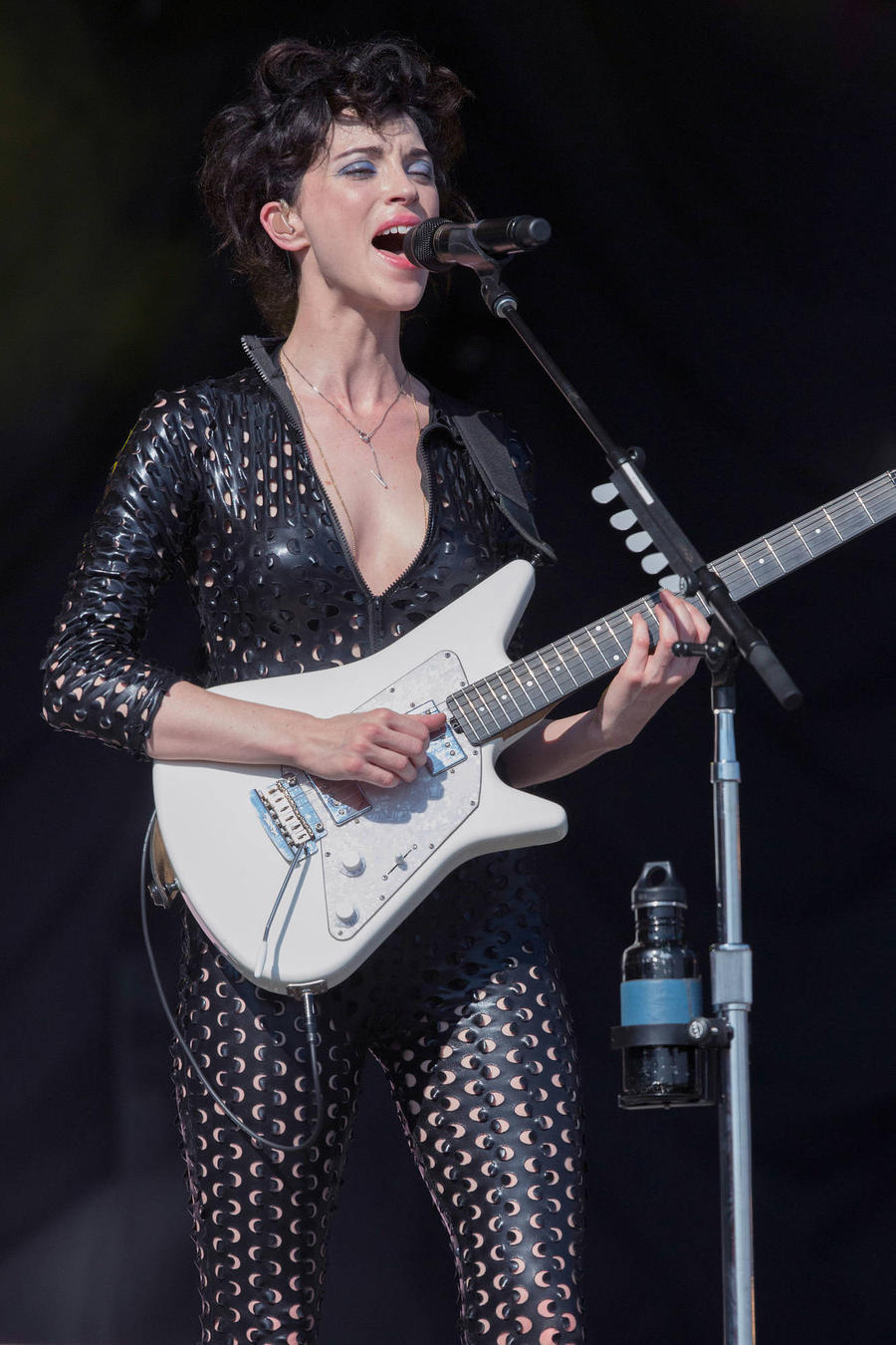 St. Vincent Names Guitar In Honour Of David Bowie