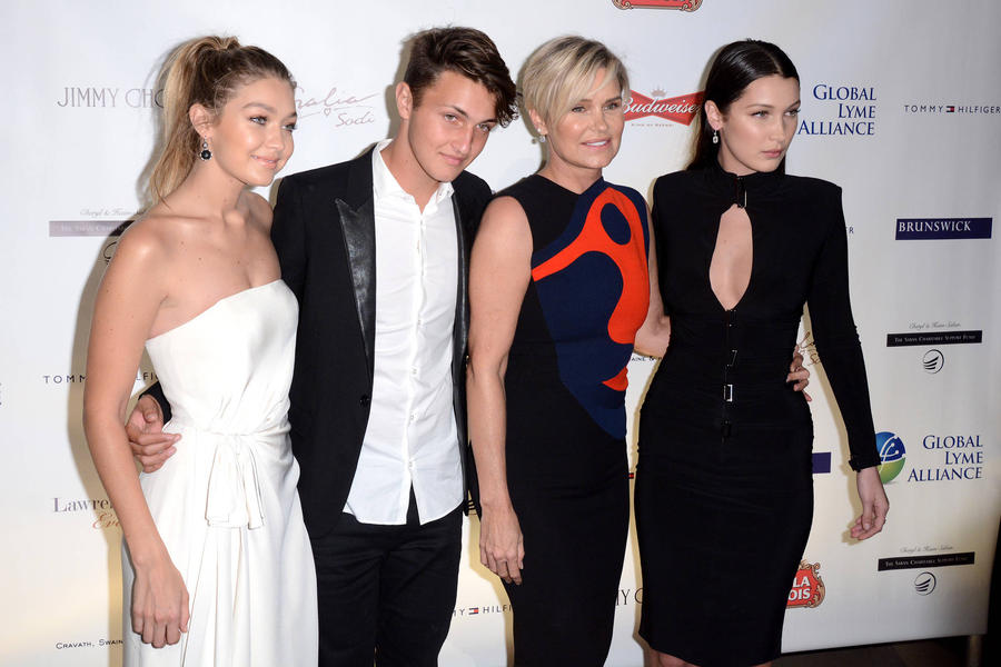 Yolanda Foster's Children Help Her Battle Lyme Disease