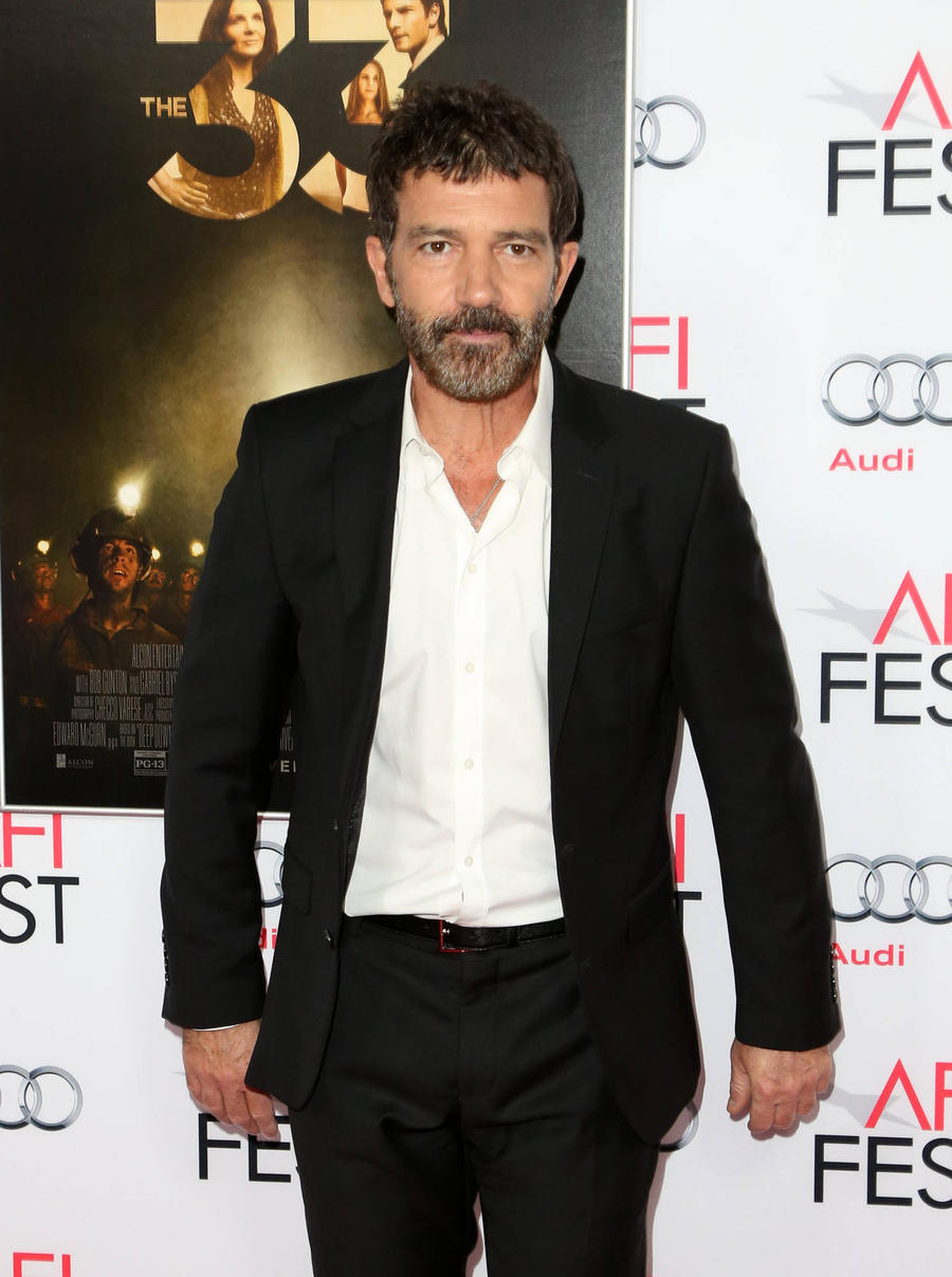 Antonio Banderas Showcases Debut Fashion Collection