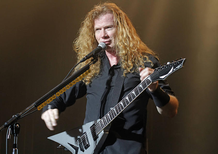 Dave Mustaine Launching Megadeth Beer