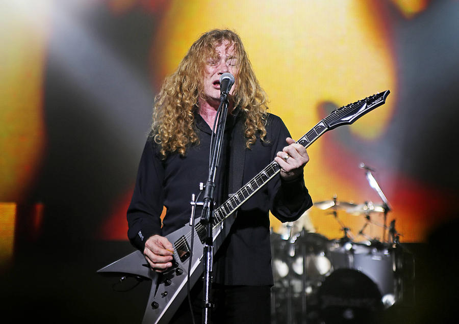 Dave Mustaine: 'I Don't Think Hall Of Fame Officials Want Me There'