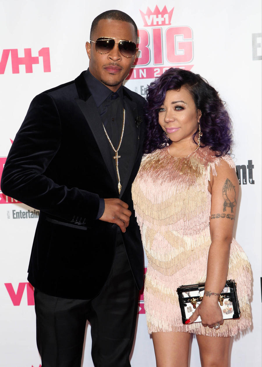 T.i. And Wife Tameka Cottle Enjoy Family Dinner Amid Divorce Filing