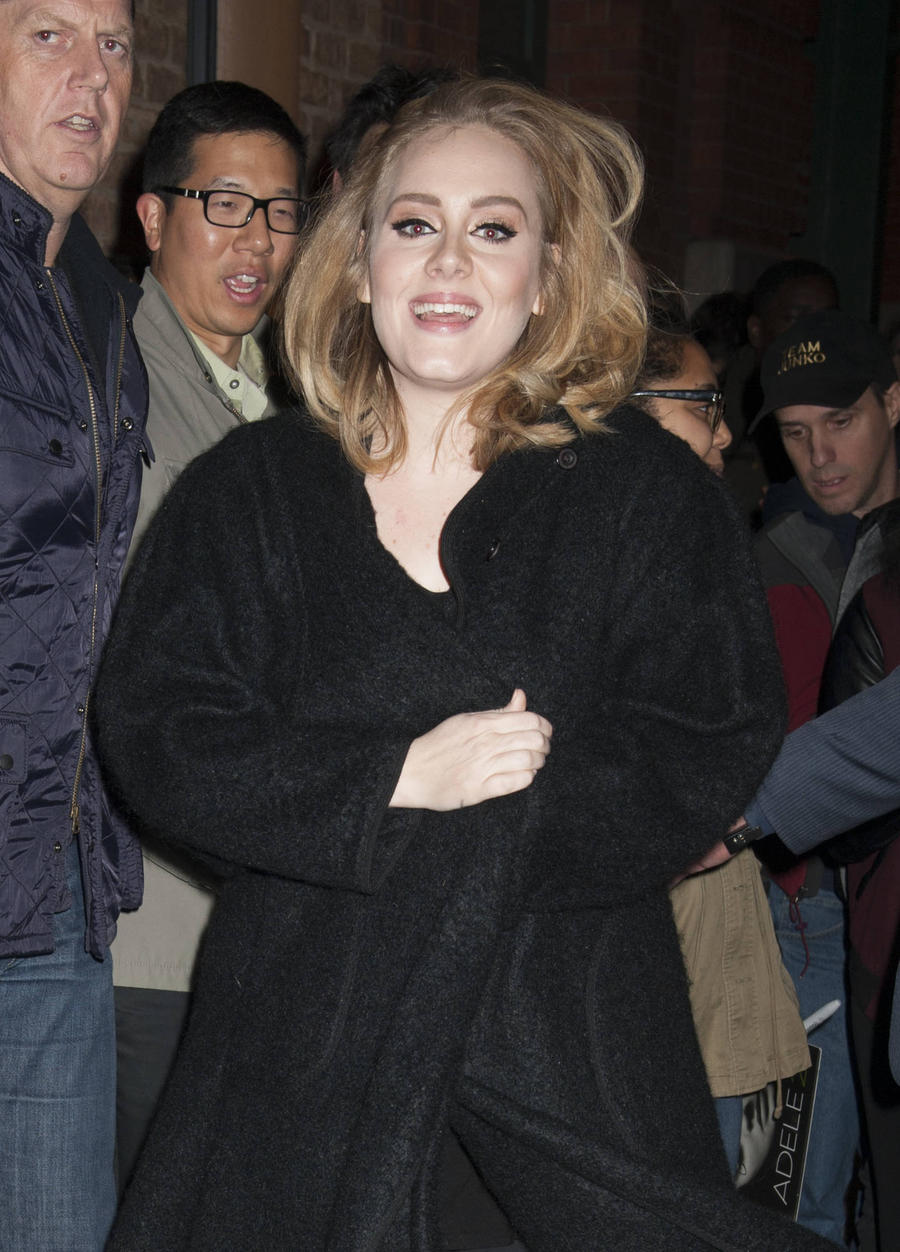 Adele Stopped Drinking When She Became A Mum
