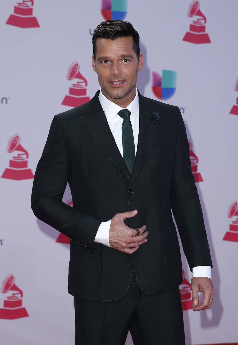 Ricky Martin Hits Red Carpet With New Boyfriend