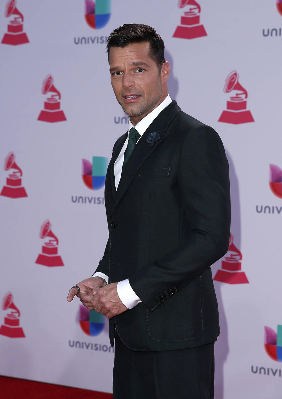 Ricky Martin Campaigning For Young Refugees To Be Given An Education
