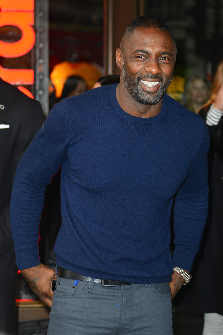 Idris Elba Replaces Charlie Hunnam In Romantic Drama