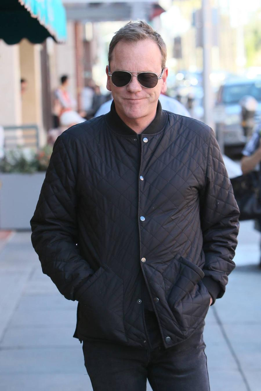 Kiefer Sutherland Interrupted Movie Set To Save Woman From 'Mugging'