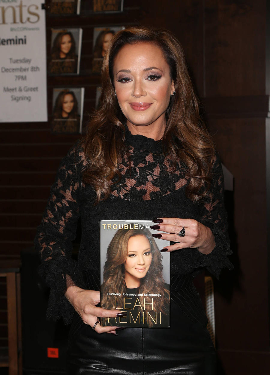 Leah Remini Convinced Scientology Leader's Estranged Dad To Write Memoir