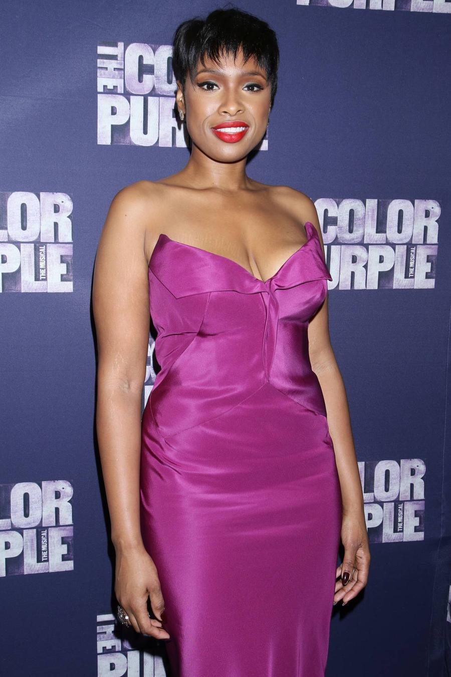 Jennifer Hudson Leaving The Color Purple