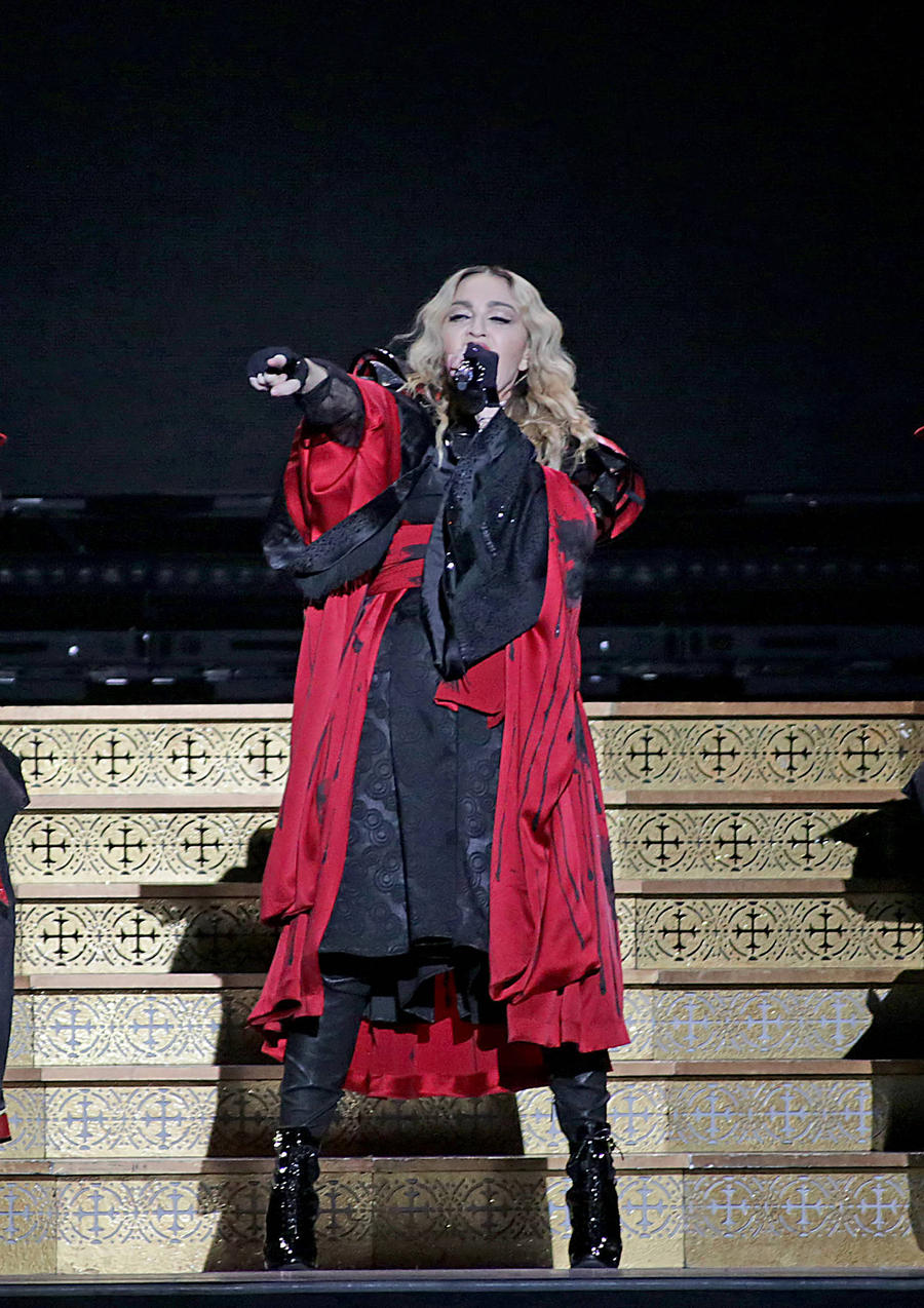 Madonna: 'Don't Park In My Driveway!'