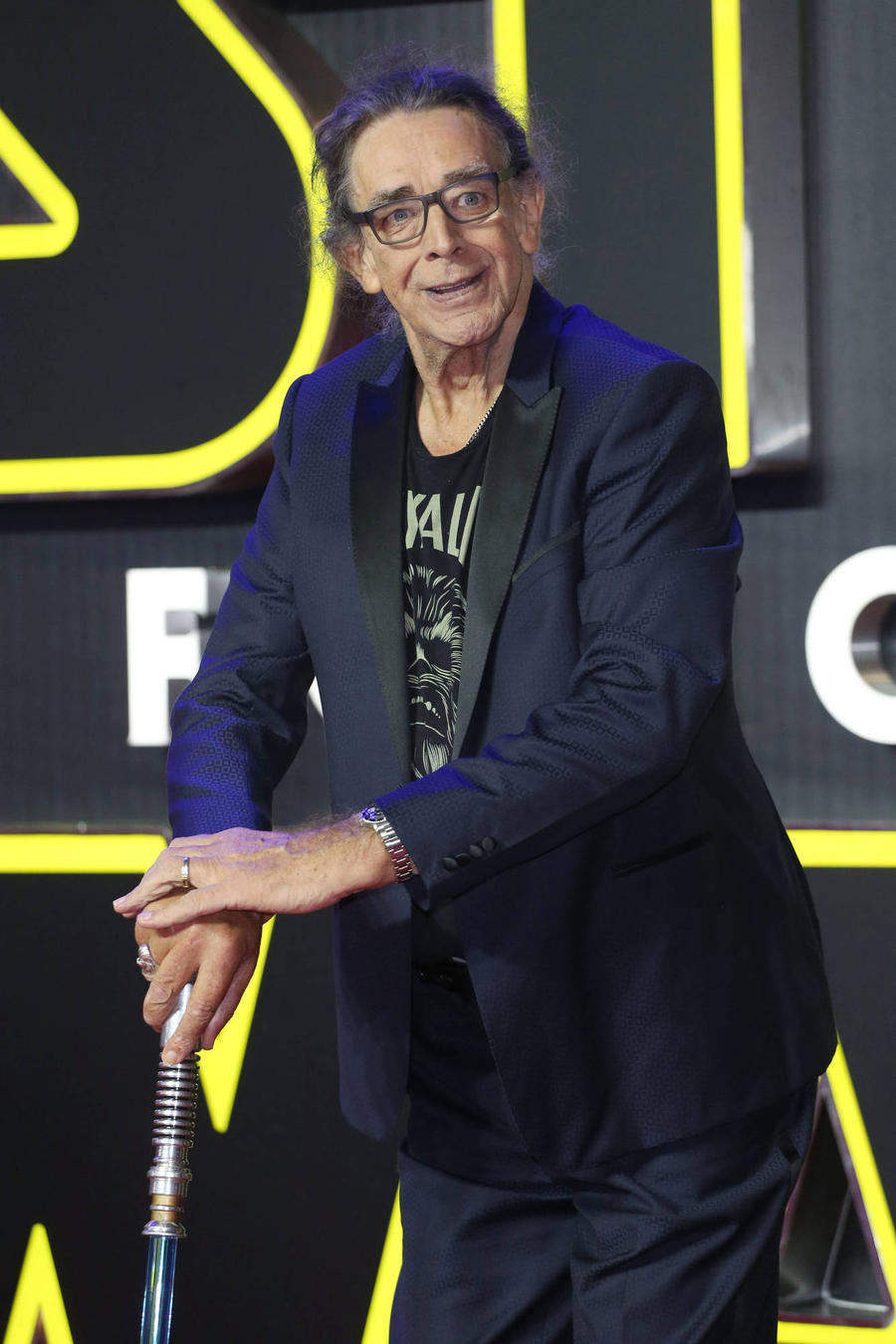 Peter Mayhew Honours Carrie Fisher