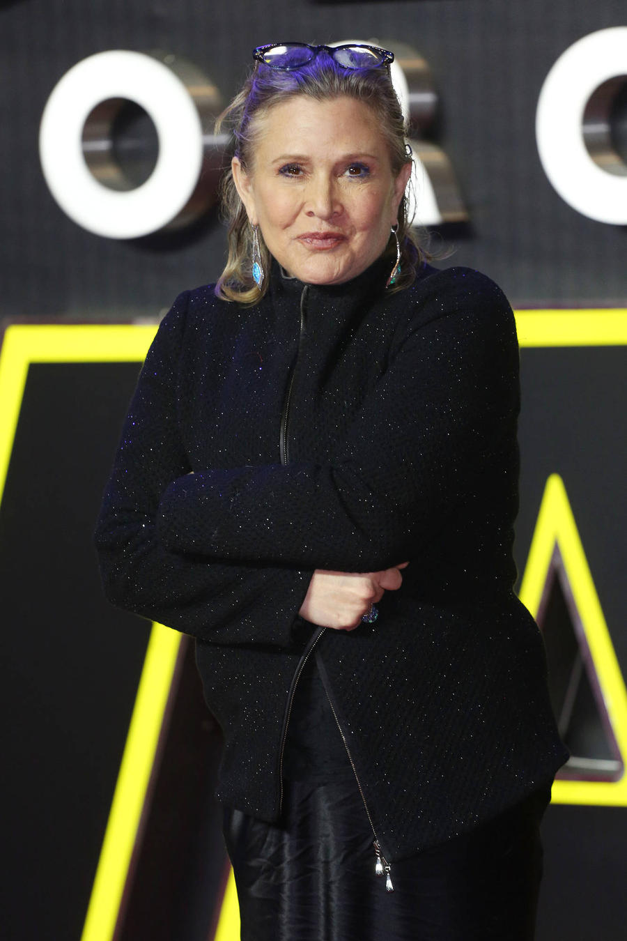 Carrie Fisher Hospitalised After Mid-air Heart Attack