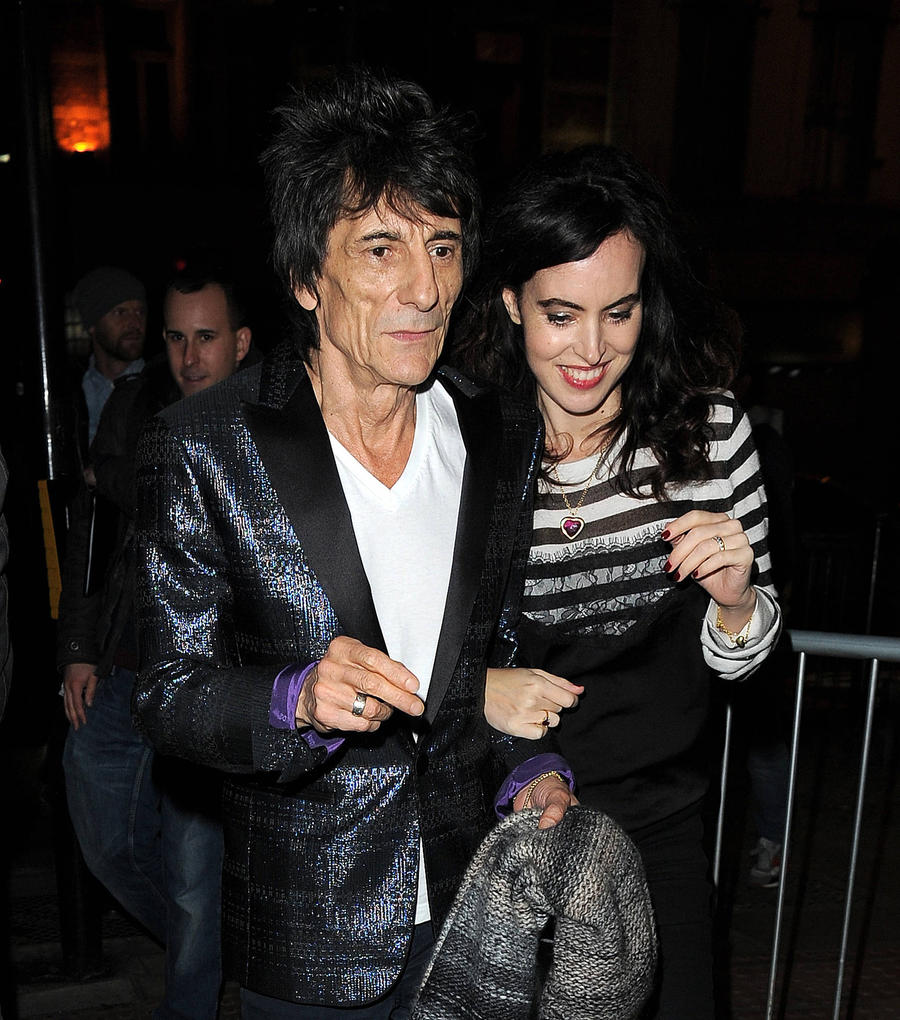 Ronnie Wood's Pregnant Wife Left Stones Tour Over Zika Virus Concerns