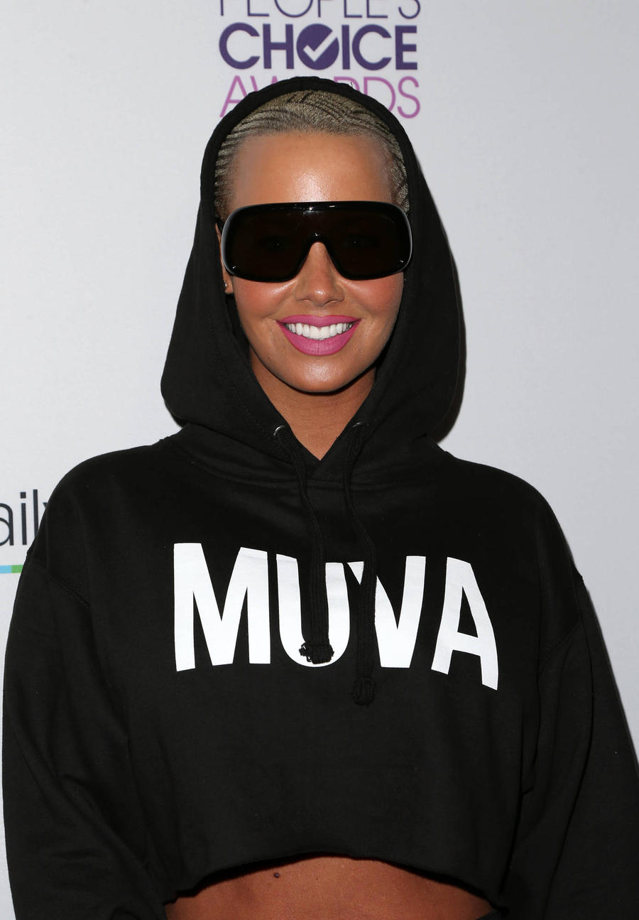 Amber Rose To Kanye West: 'Don't Talk About My Child'