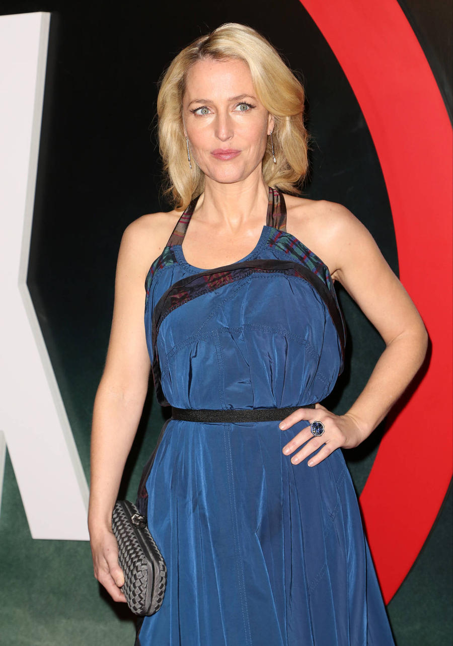 Gillian Anderson Loves New Jane Bond Campaign