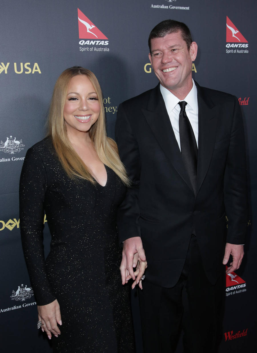 Mariah Carey Jokes About Engagement Ring