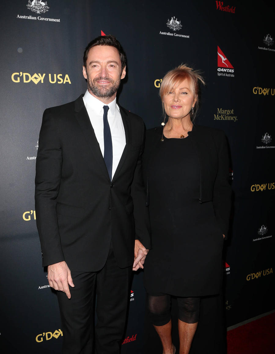 Hugh Jackman Sings Moving Tribute At Mother-in-law's Funeral