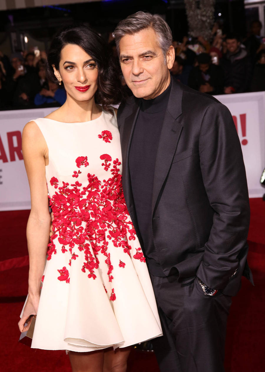 George Clooney Reveals Valentine's Day Plans With Wife Amal